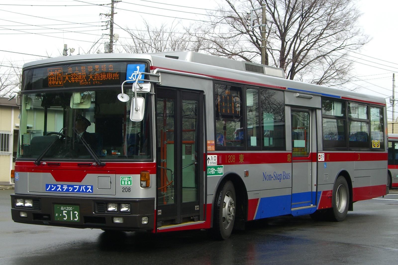 大森操車所にて 2007.2