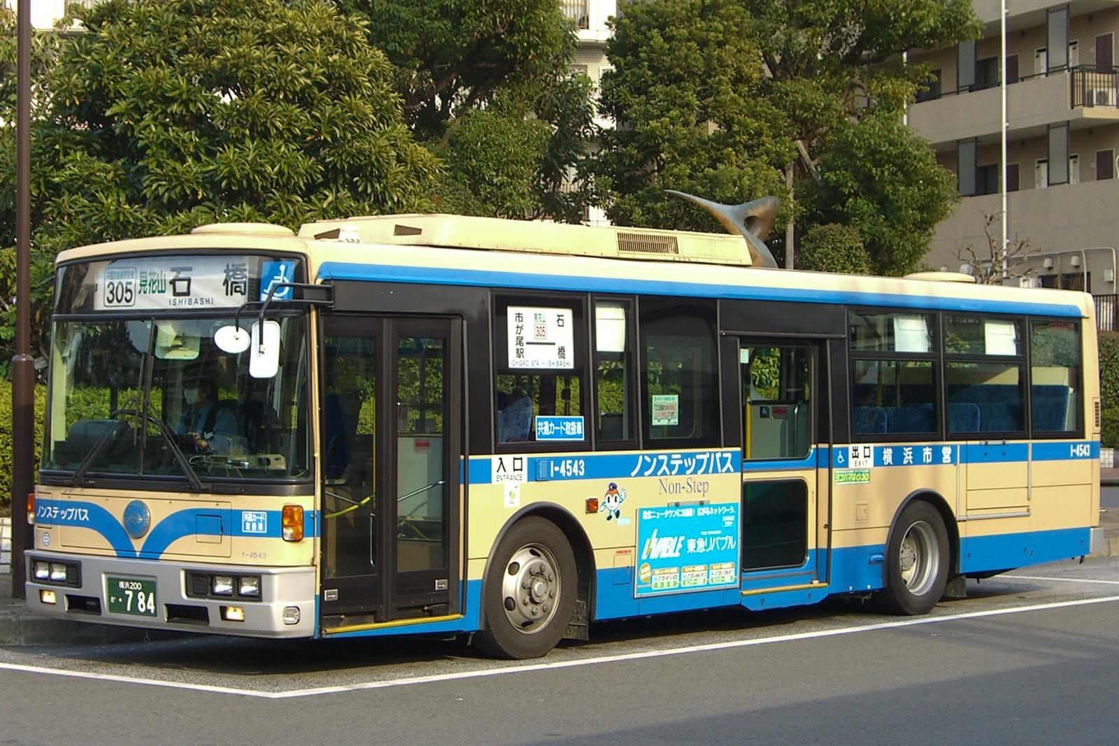 市が尾駅にて 2007.3