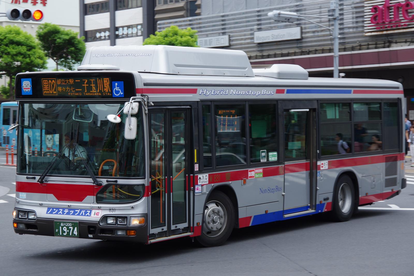 目黒駅前にて 2016.8