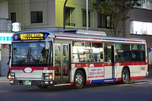 東急バス TA954 | 路線バス車両...