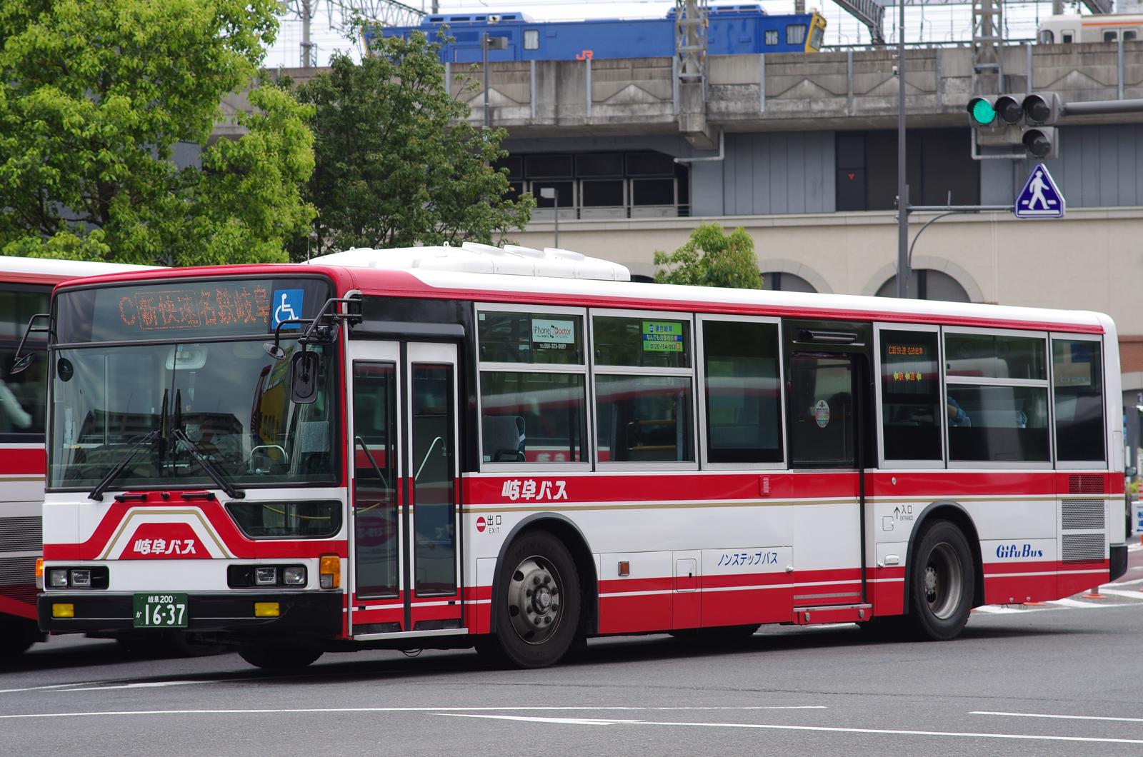 JR岐阜にて 2016.5