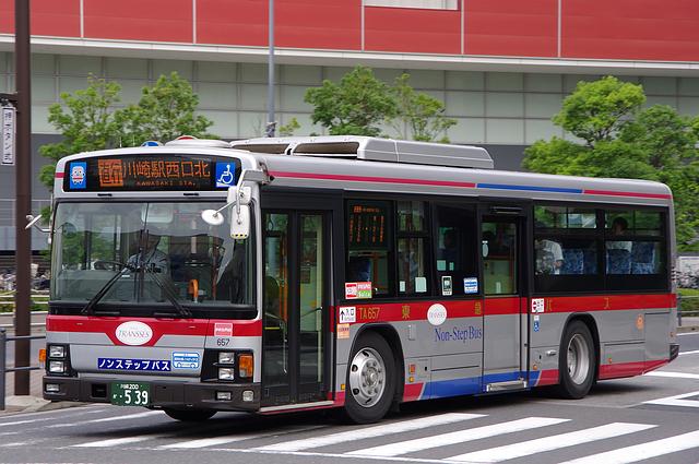 東急バス TA657 | 路線バス車両...