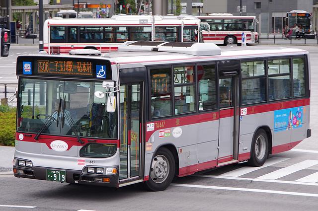 東急バス TA447 | 路線バス車両...