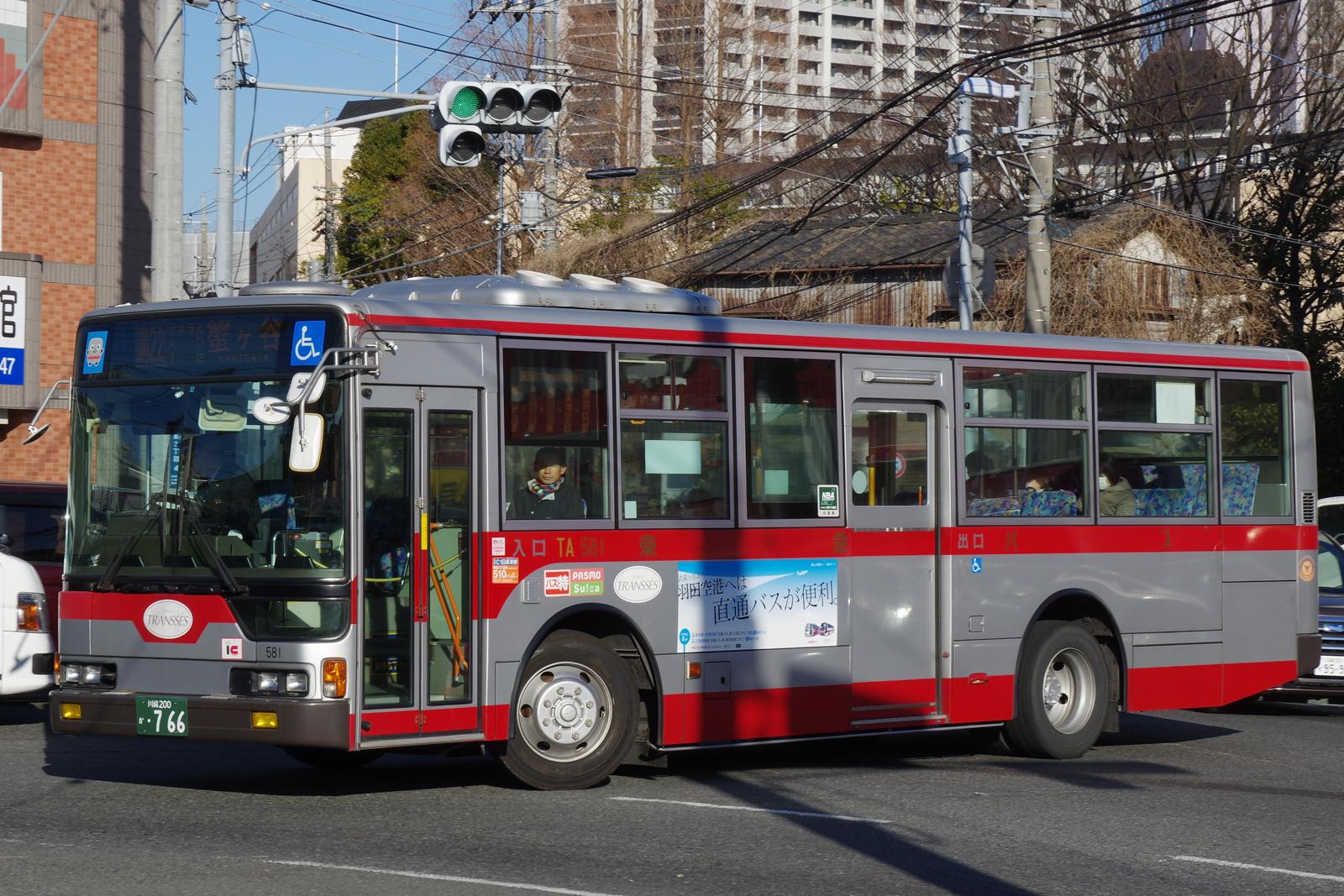 東急バス TA581 | 路線バス車両...