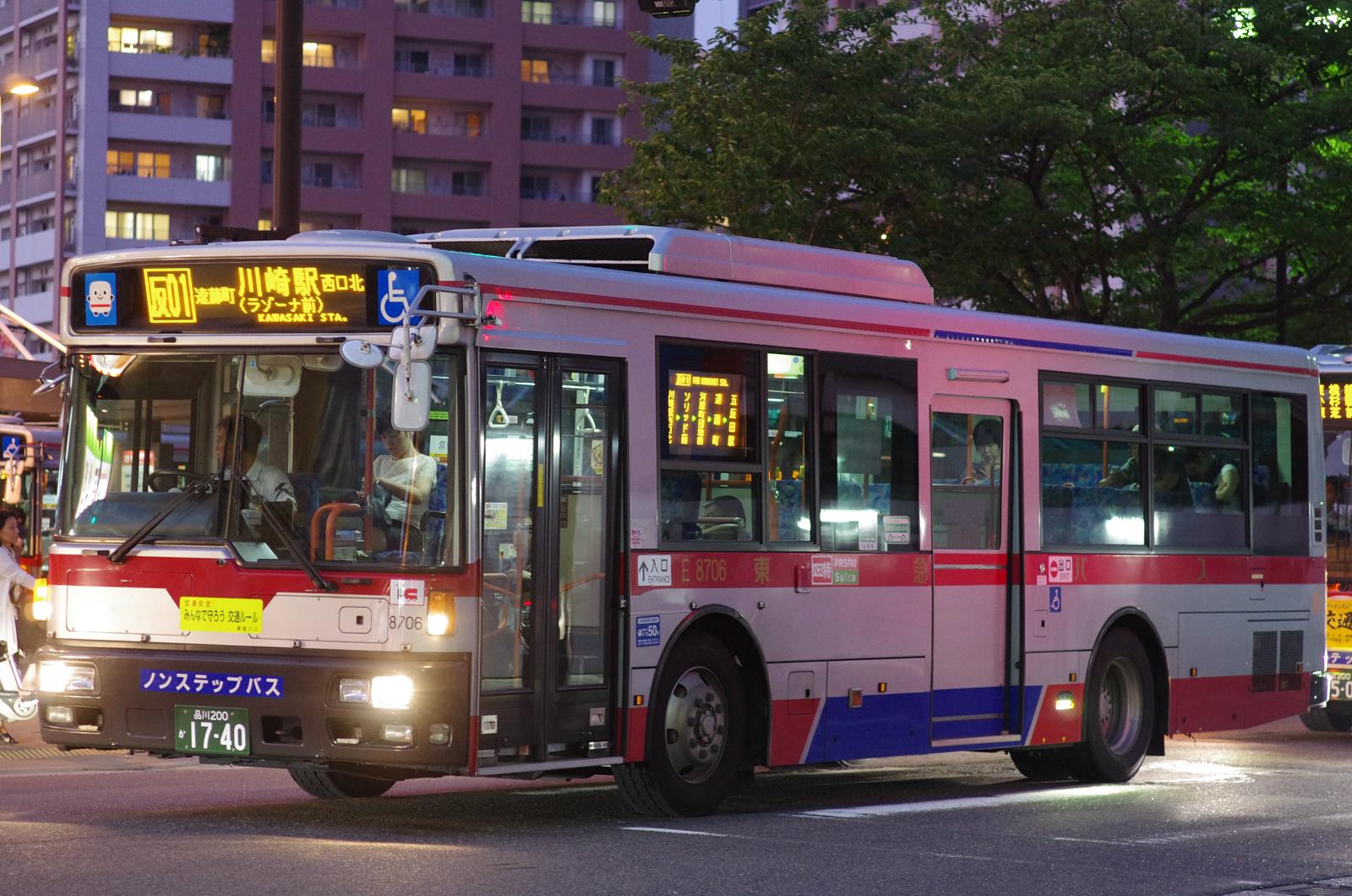 川崎駅西口北にて 2015.7