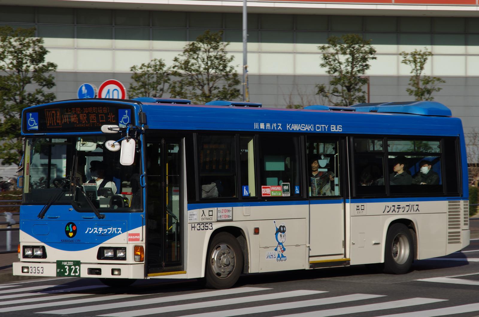川崎駅西口北にて 2016.3