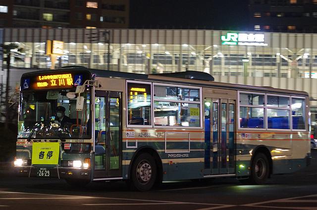 西武バス A2-683 | 路線バス車両...