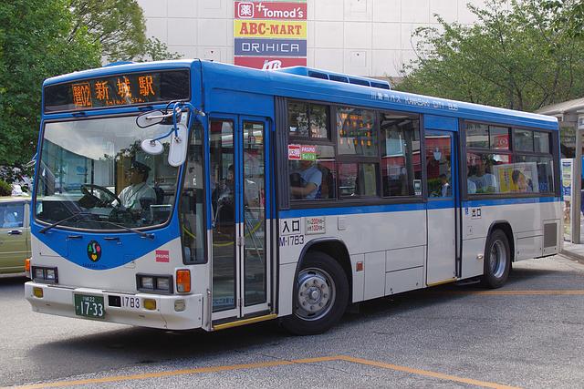 川崎市バス M-1783   路線バス車...
