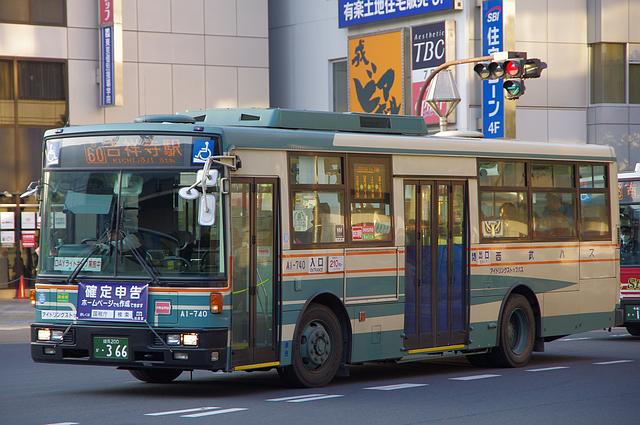 西武バス A1-740 | 路線バス車両...