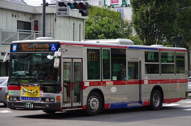 東急バス TA1374 | 路線バス車両...